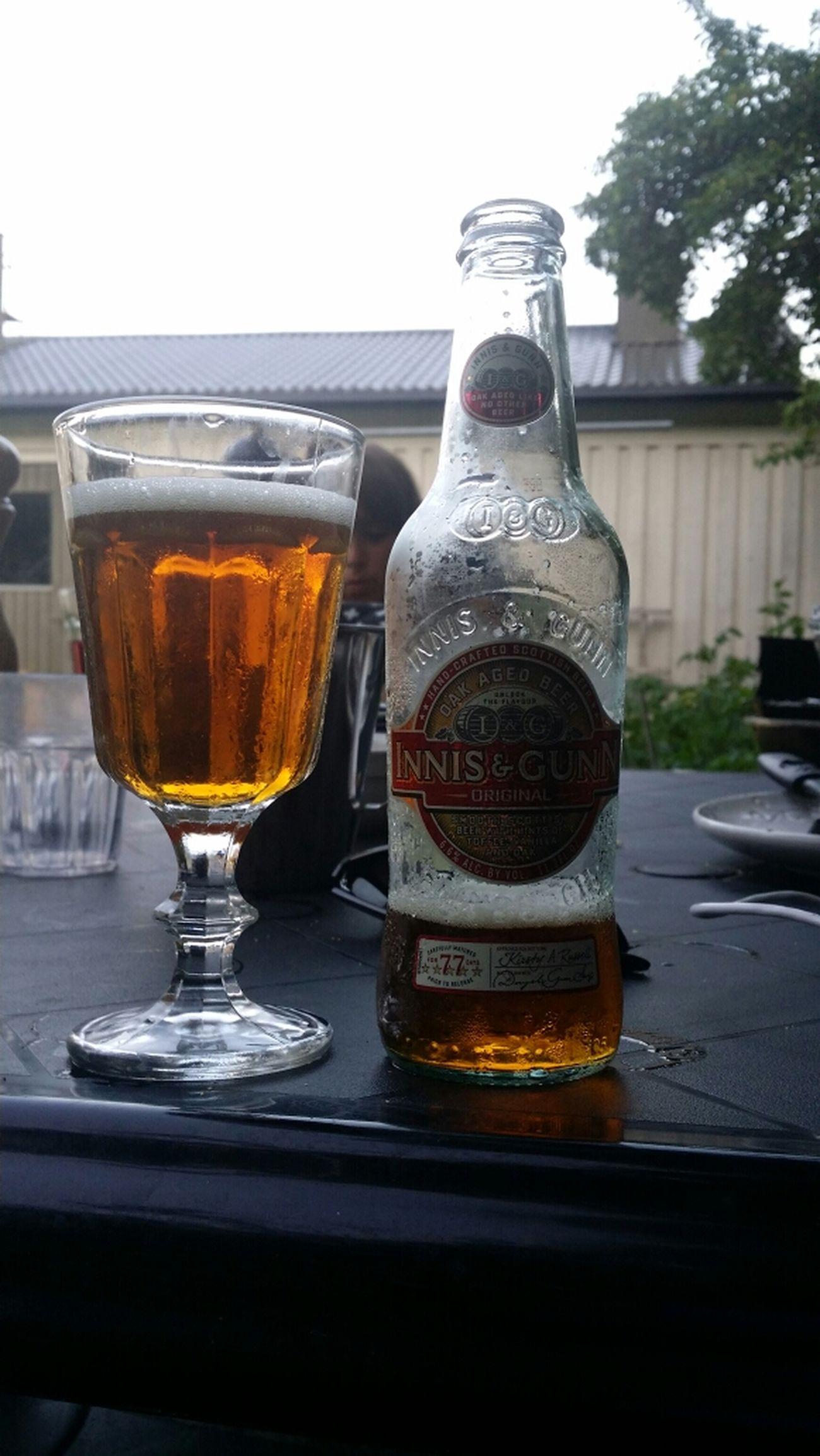 Relaxing Drinking Beer Innisandgunn Enjoying Life