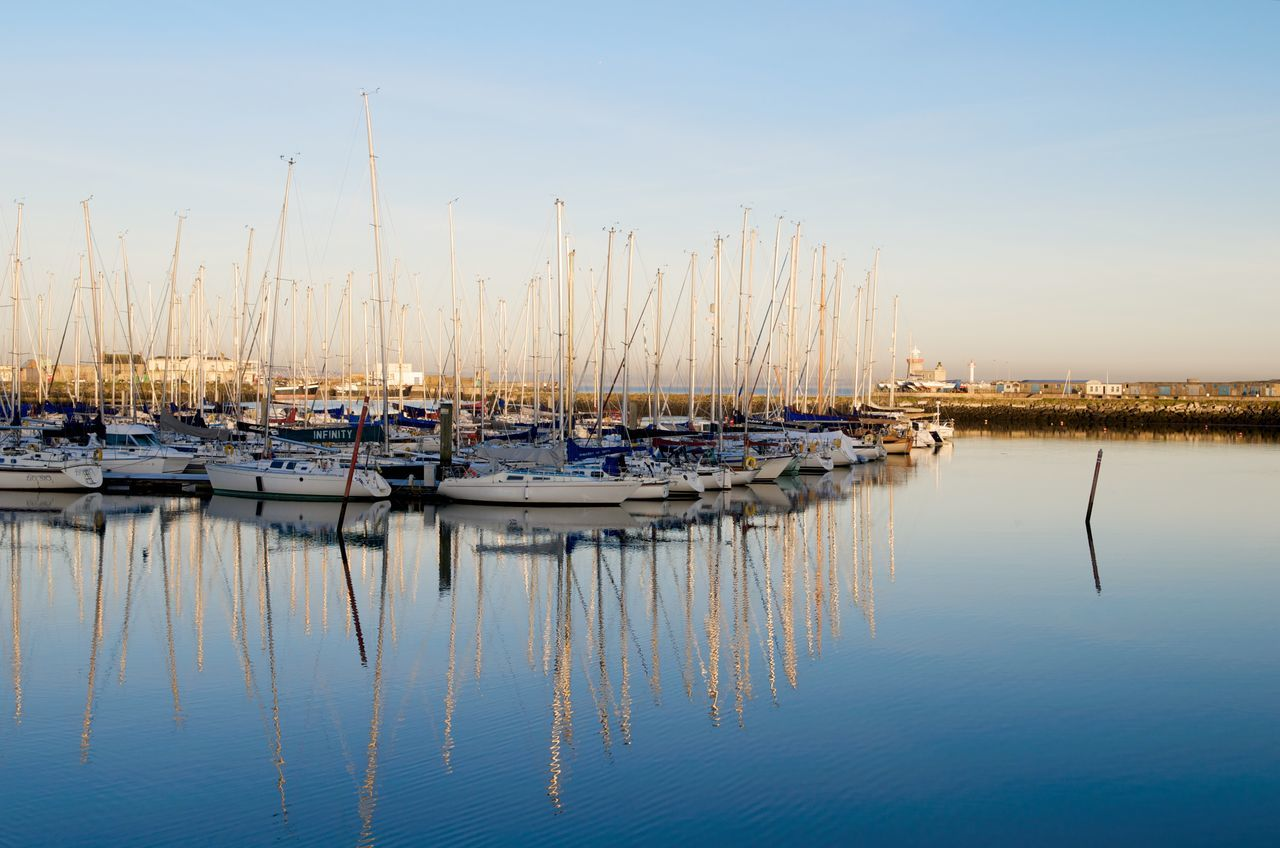 Beautiful stock photos of dublin, Beauty In Nature, Blue, Boat, Calm