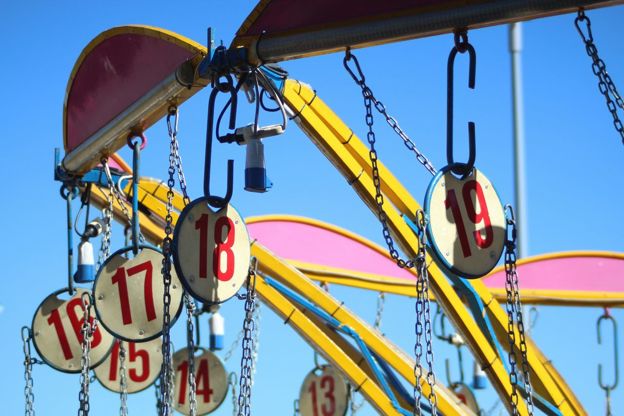 Day Outdoors No People Sky Multi Colored Clear Sky Close-up Carousel
