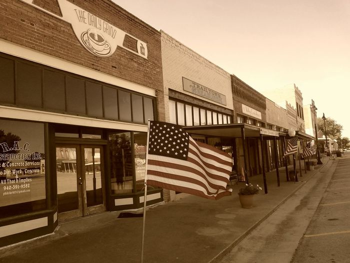 Flag Patriotism Architecture Built Structure Outdoors No People Day Politics And Government