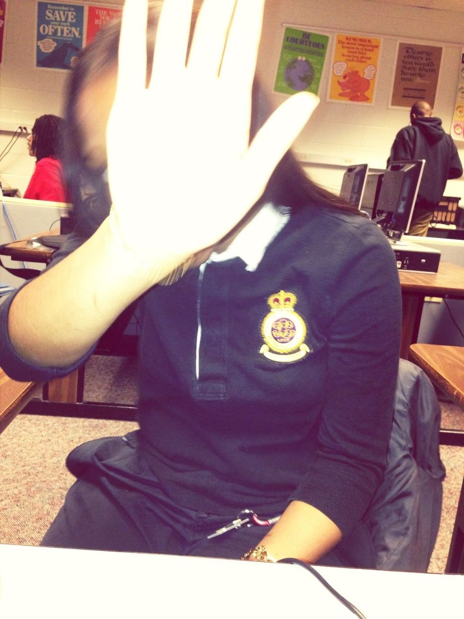 Unwanted Picture In Class