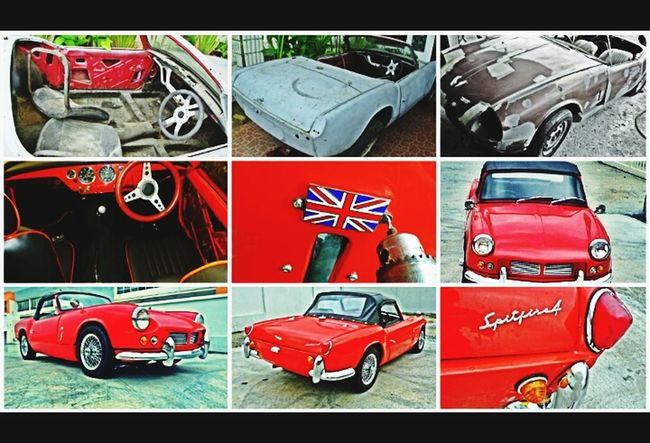 My Sportscar Triumph Spitfire 1964 Classic Car