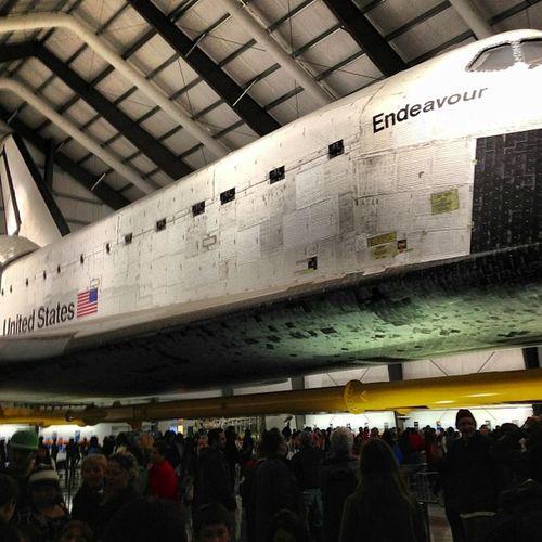 The #Endeavour Space Shuttle Endeavour