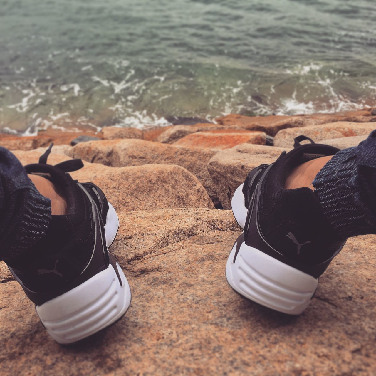 Beautiful stock photos of puma, shoe, low section, sand, human leg