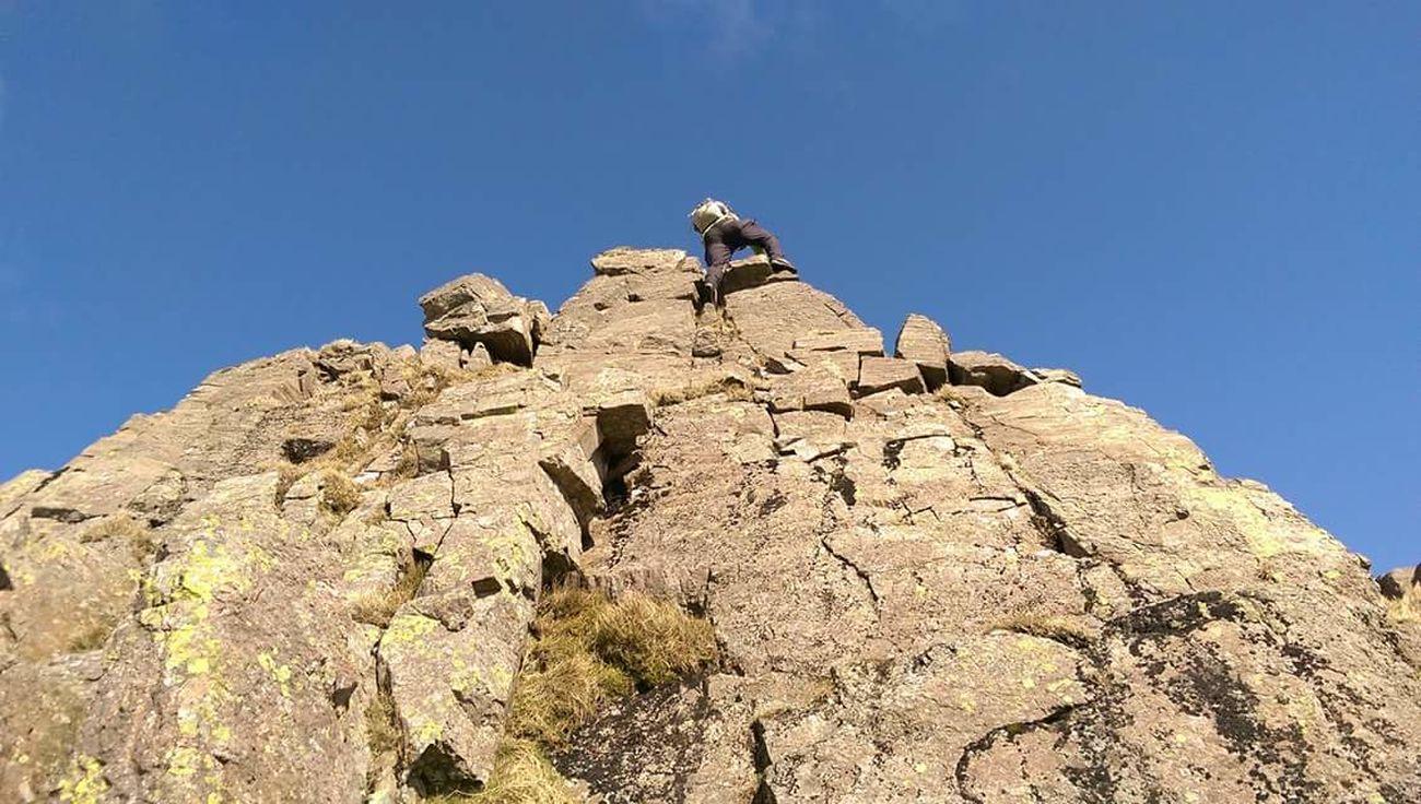 Climbing High Scrambling Cumbria