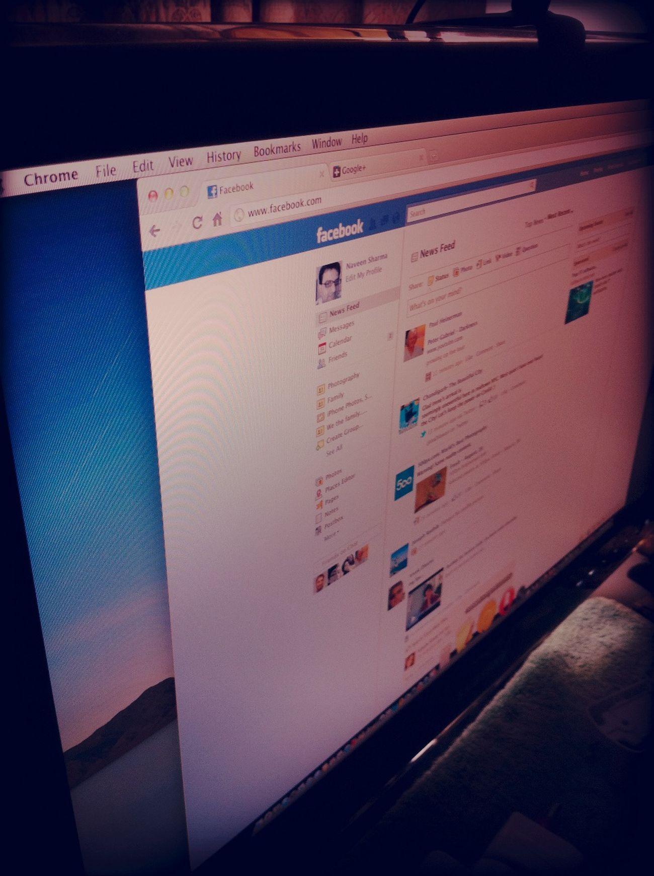 Checking Facebook Checking Facebook