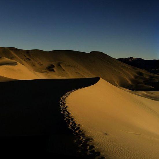 the Dunes (real) - @ Eureka , Deathvalley , California