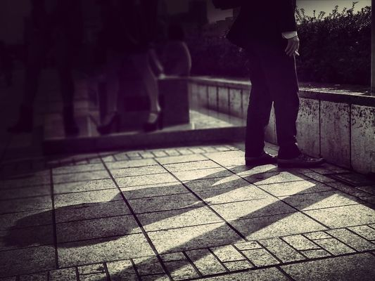 The waiting... in Mito-shi by Takashi_k