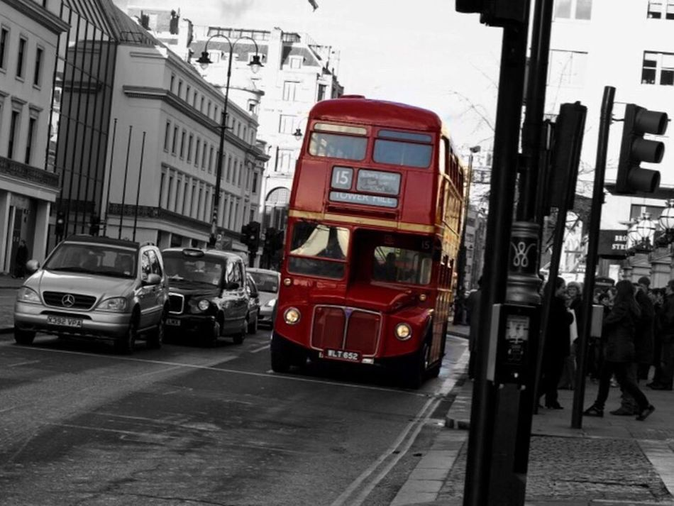 Routemaster Red City Land Vehicle Transportation Travel Destinations Double-decker Bus Public Transportation Travel Mode Of Transport City Life Telephone Booth Outdoors Architecture Tram No People Fire Engine Cultures Day London Bus Classic Selective Color
