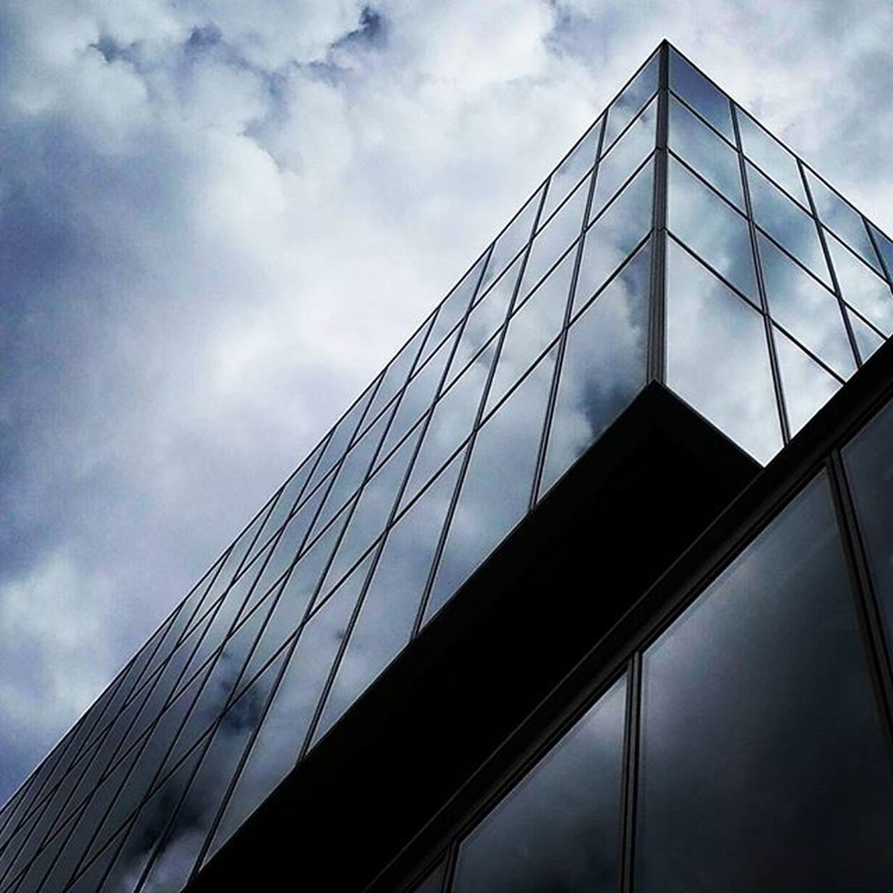 Prospettive Fieramilano Architecture Modern Glass Sky Clouds Photooftheday Picoftheday Instadaily Instagood