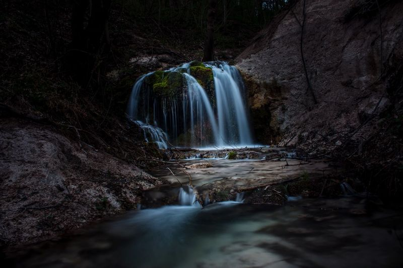 Waterfall Water Long Exposure Nature Outdoors Beauty In Nature Forest First Eyeem Photo