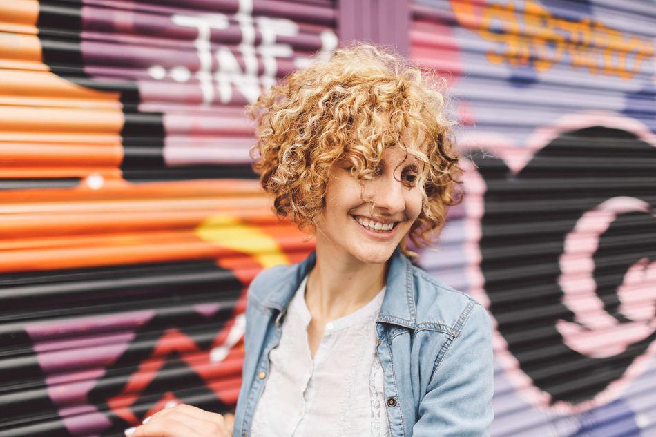 Beautiful stock photos of graffiti, 30-34 Years, Art And Craft, Blond Hair, Brighton