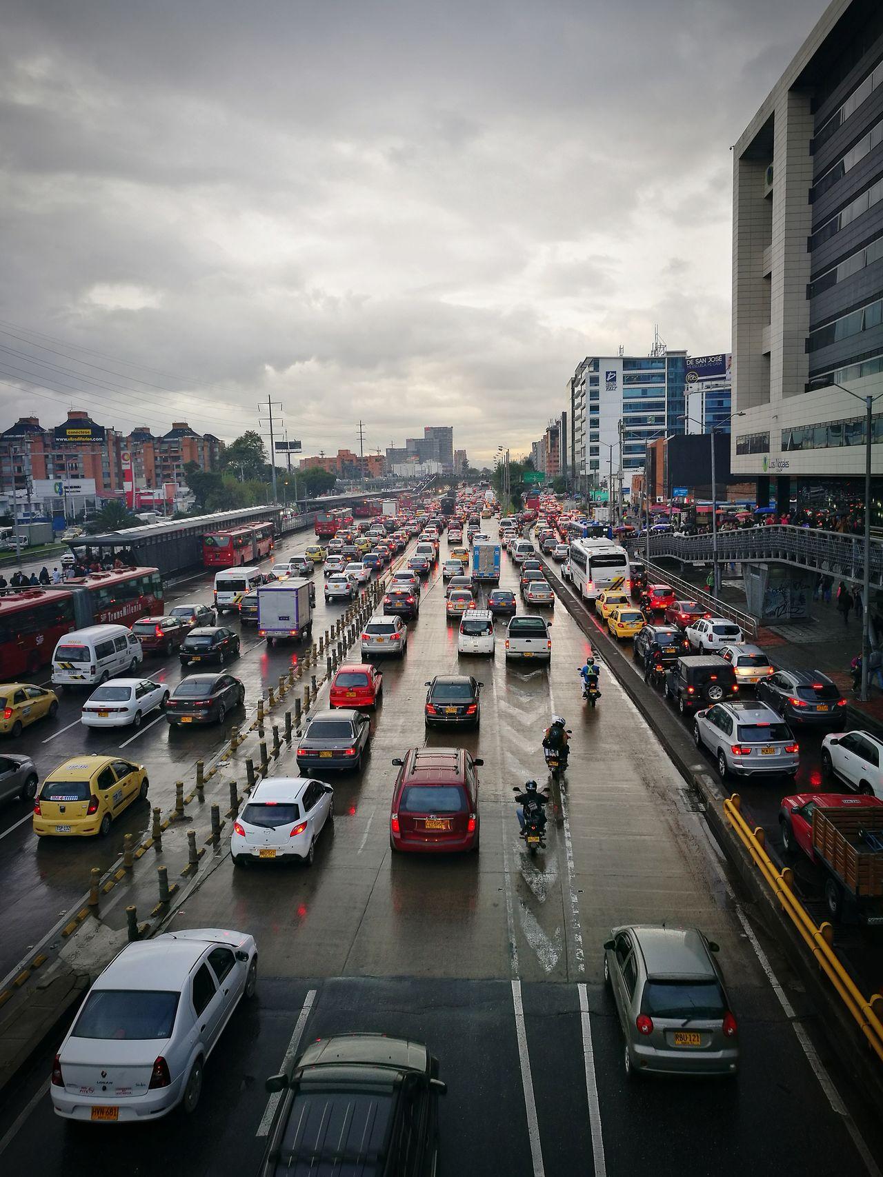 Bogotá Traffic Traffic Jam The Photojournalist - 2017 EyeEm Awards The Street Photographer - 2017 EyeEm Awards