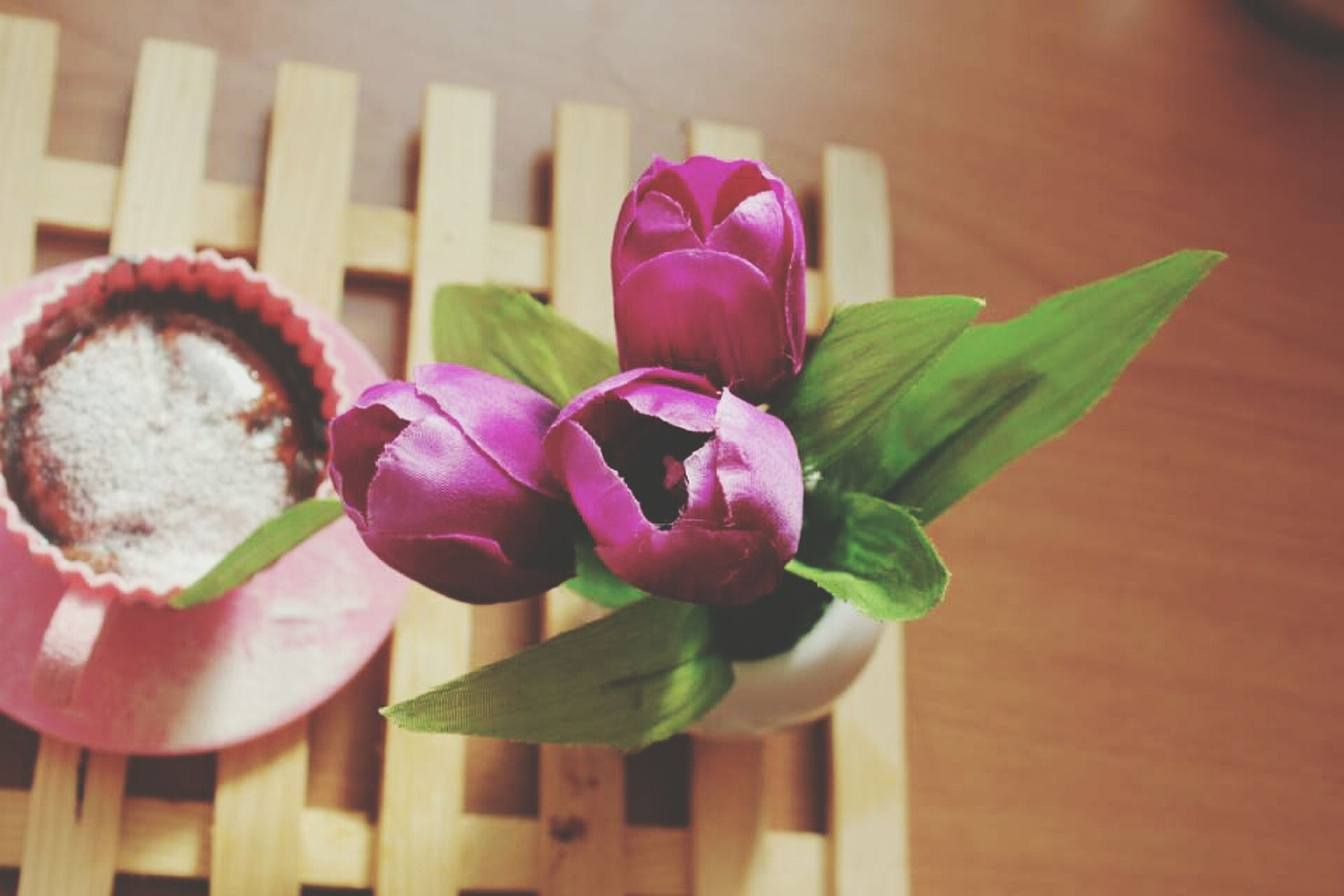 indoors, freshness, flower, table, close-up, pink color, still life, focus on foreground, wood - material, petal, no people, fragility, selective focus, home interior, vase, decoration, flower head, plant, nature, day