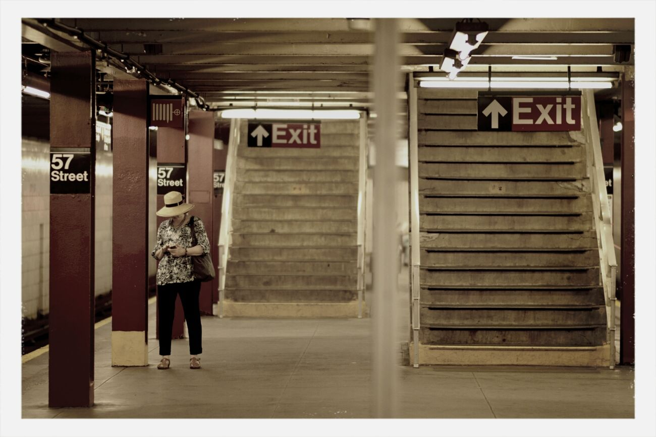 what if New York City had a Gotham City feel. Subway Portraits NYC Photography Art