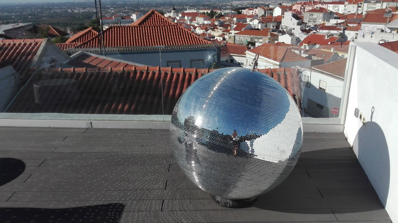 Close-up No People Day Outdoors Architecture Mirrorball Silver  Light