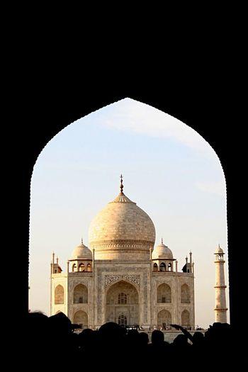 Tear pearl of India. Taj Mahal Traveling Architecture Beautiful Enjoying Life View Landscape India Getting Creative Sunset