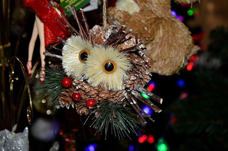 Новогодняя игрушка🎊 Hello World Hi! City Moscow Home Sweet Home Home Surprise игрушка новогодняя Toys Toy Owl