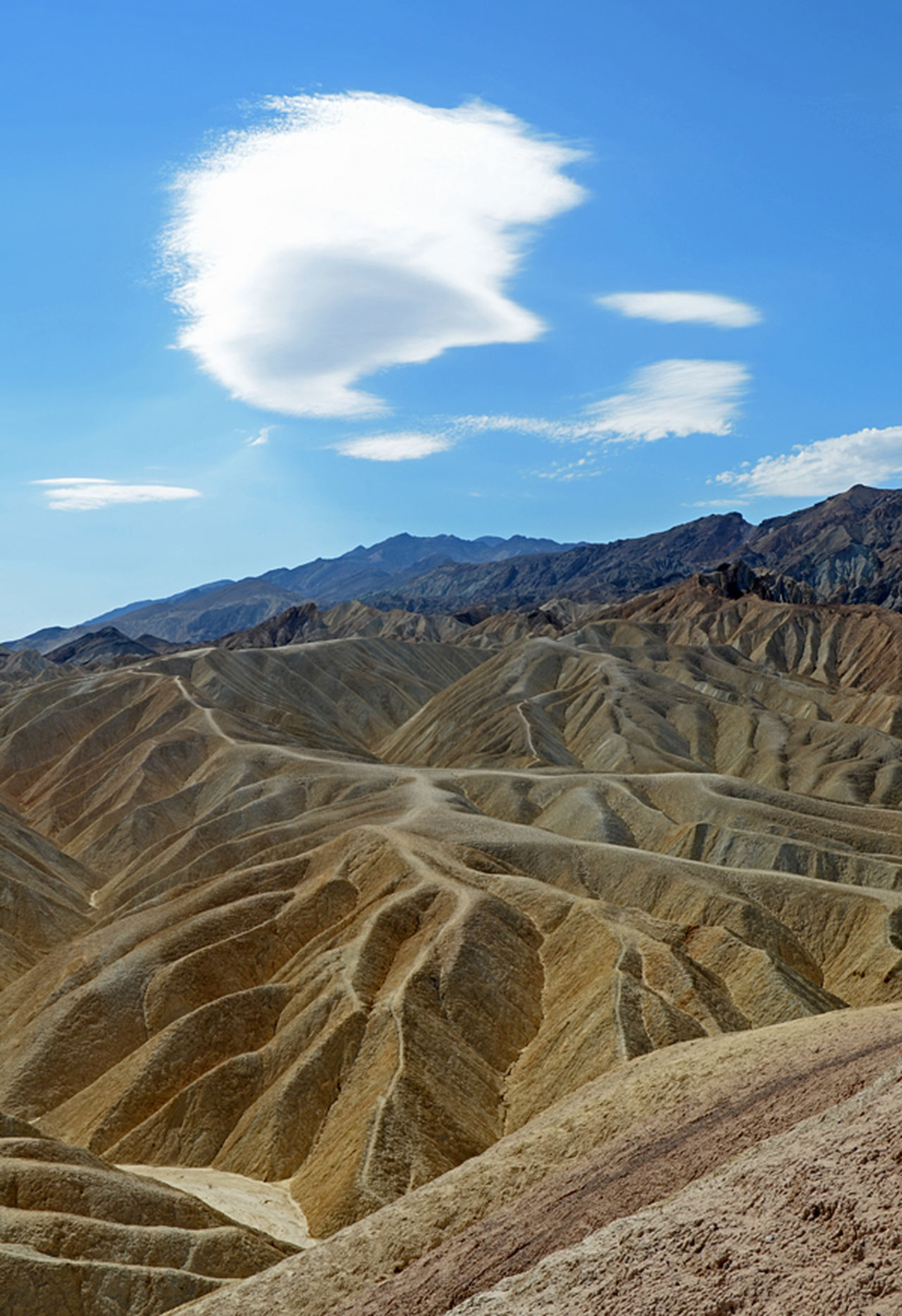 Beauty In Nature California Cloud - Sky Day Death Valley Geology Landscape Mountain Nature No People Outdoors Physical Geography Scenics Sky Tranquil Scene Tranquility USA