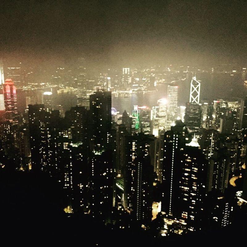Foggy But Beautiful HongKong
