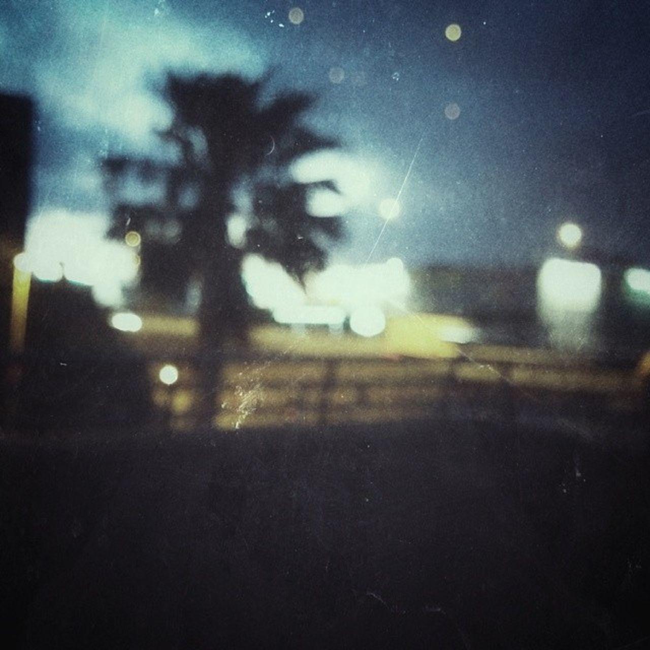 weather, night, defocused, no people, window, raindrop, close-up, road, outdoors, nature, transportation, tree, motion, sky