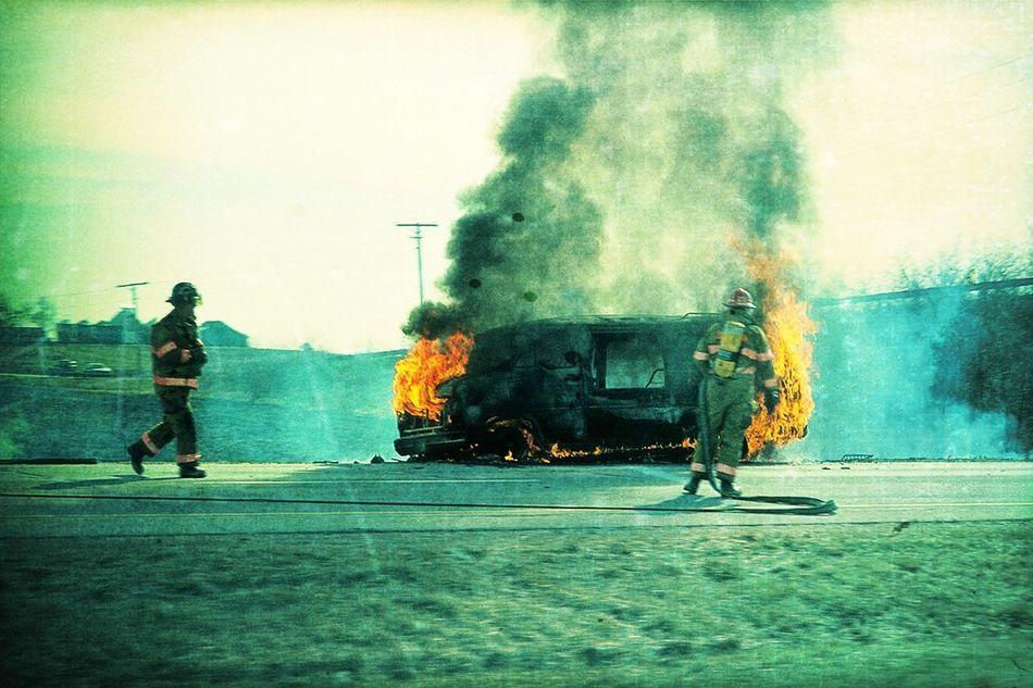 van ablaze Van Ablaze