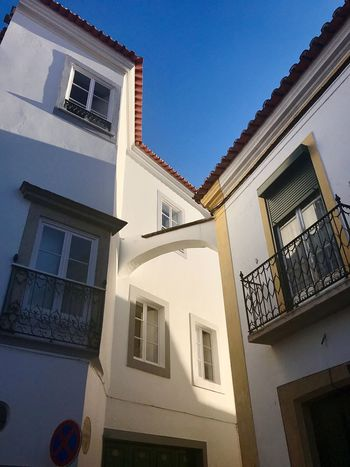 Architecture Building Exterior Built Structure Window Low Angle View Balcony House Residential Building No People Day Outdoors Clear Sky Sky