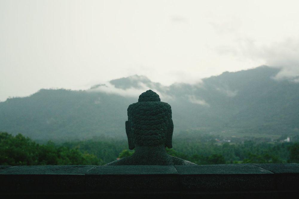 View from Borobudur Temple INDONESIA Taking Photos Enjoying Life Travelling Photography Enjoying The Sights Culture World Heritage World Wonders