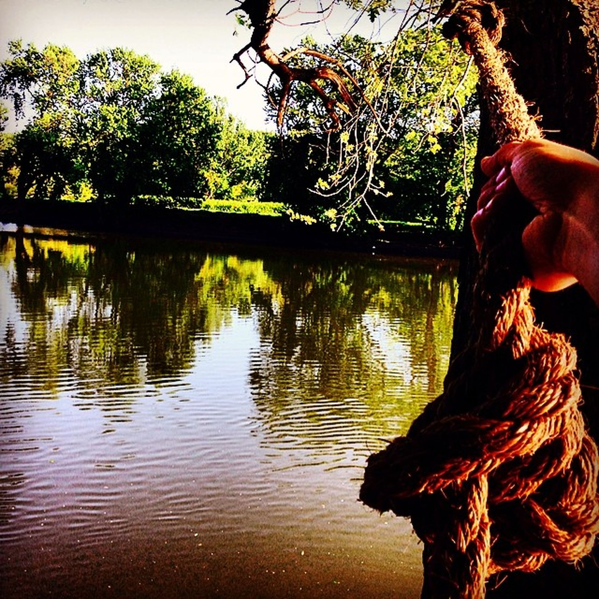 Ain't no thing but a rope swing! Riverrat 607compound River Ropeswing  summertime summer newyork
