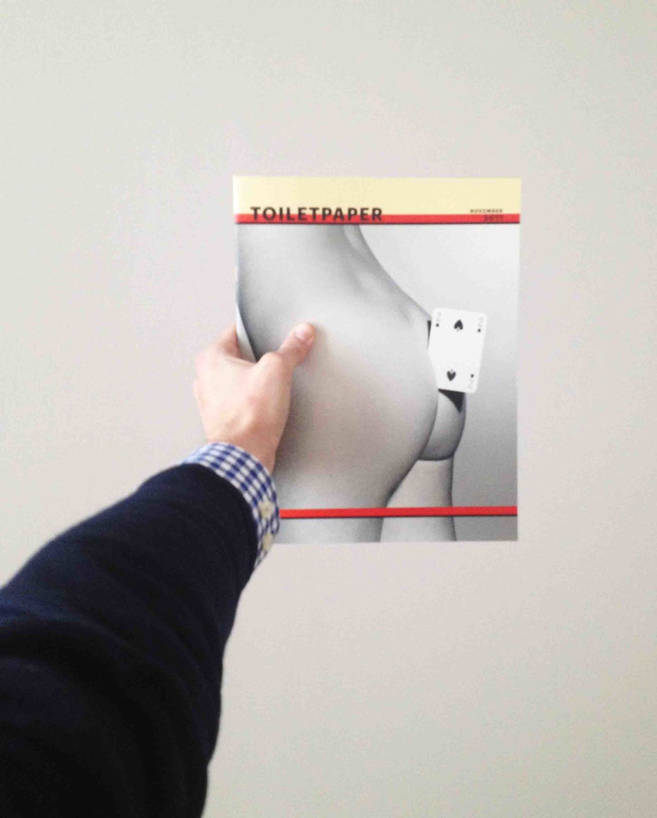 Arm Art As Cropped Holding Human Finger Kunst Maurizio Cattelan Personal Perspective Tolietpaper Magazine