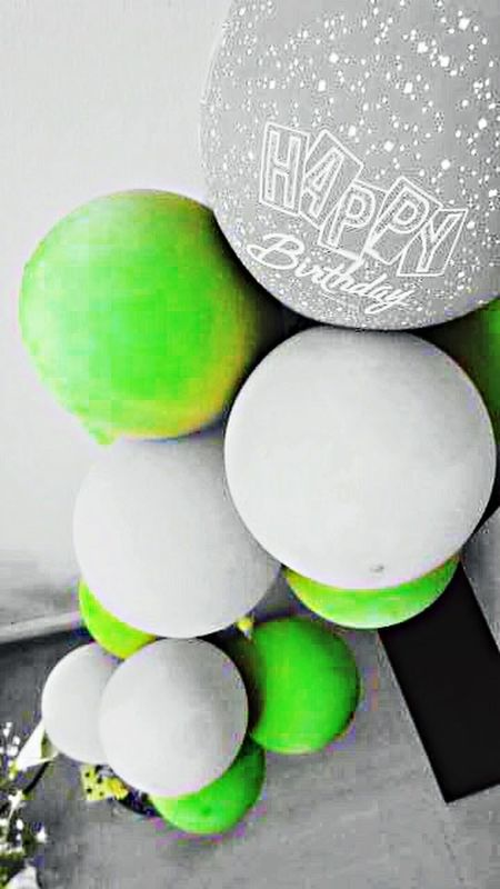 The Places I've Been Today Birthday Balloons Colors Colours Tower Banxcroxadoodledoo Vibrant Neon Luminous