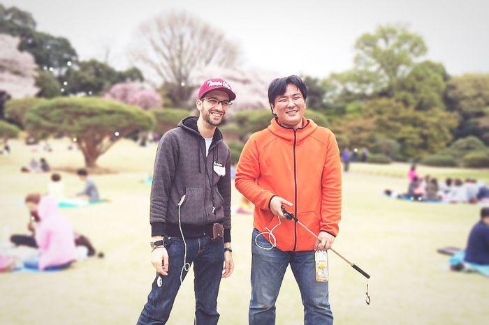 EyeEm Tokyo Meetup 8 RePicture Friendship Bokeh Snapshot Beautiful Day Smile Spring Report Happy EyeEm Nature Lover Spring