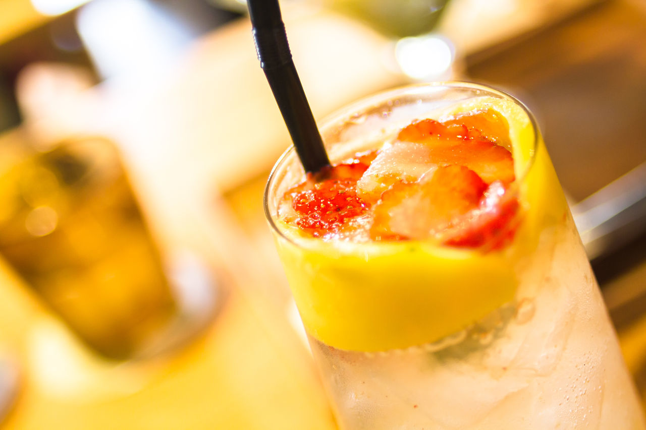 A perfect refreshment in Bali, Indonesia Beverage Beverages Cool Drink Energy Freshness Fruit Health Healthy Mango Ready-to-eat Refreshment Soda Strawberry Summertime Sweet Food Temptation Tropical Climate Tropical Fruits Tropical Paradise Vitamin