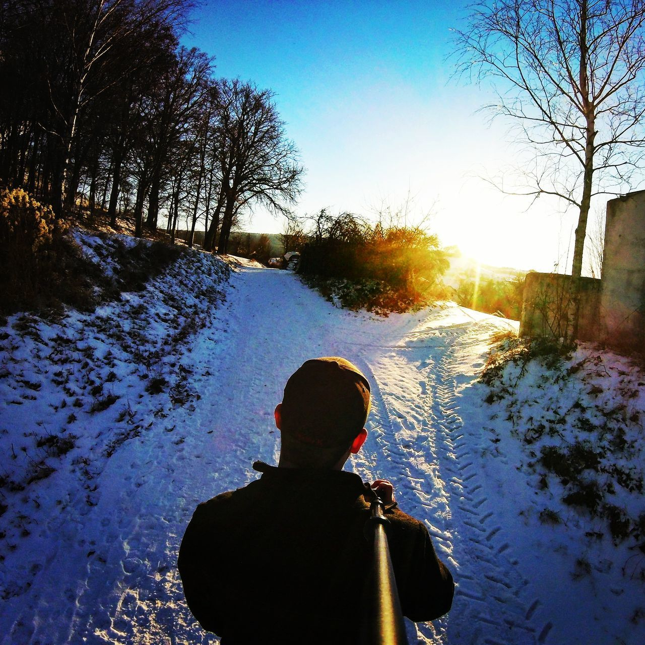 First Eyeem Photo Snow Sunset Sunshine Goprohero4 Goprooftheday Goprophotography Snapseed Gopro Gopro Session Winter Winter Wonderland Cold EyEmNewHere