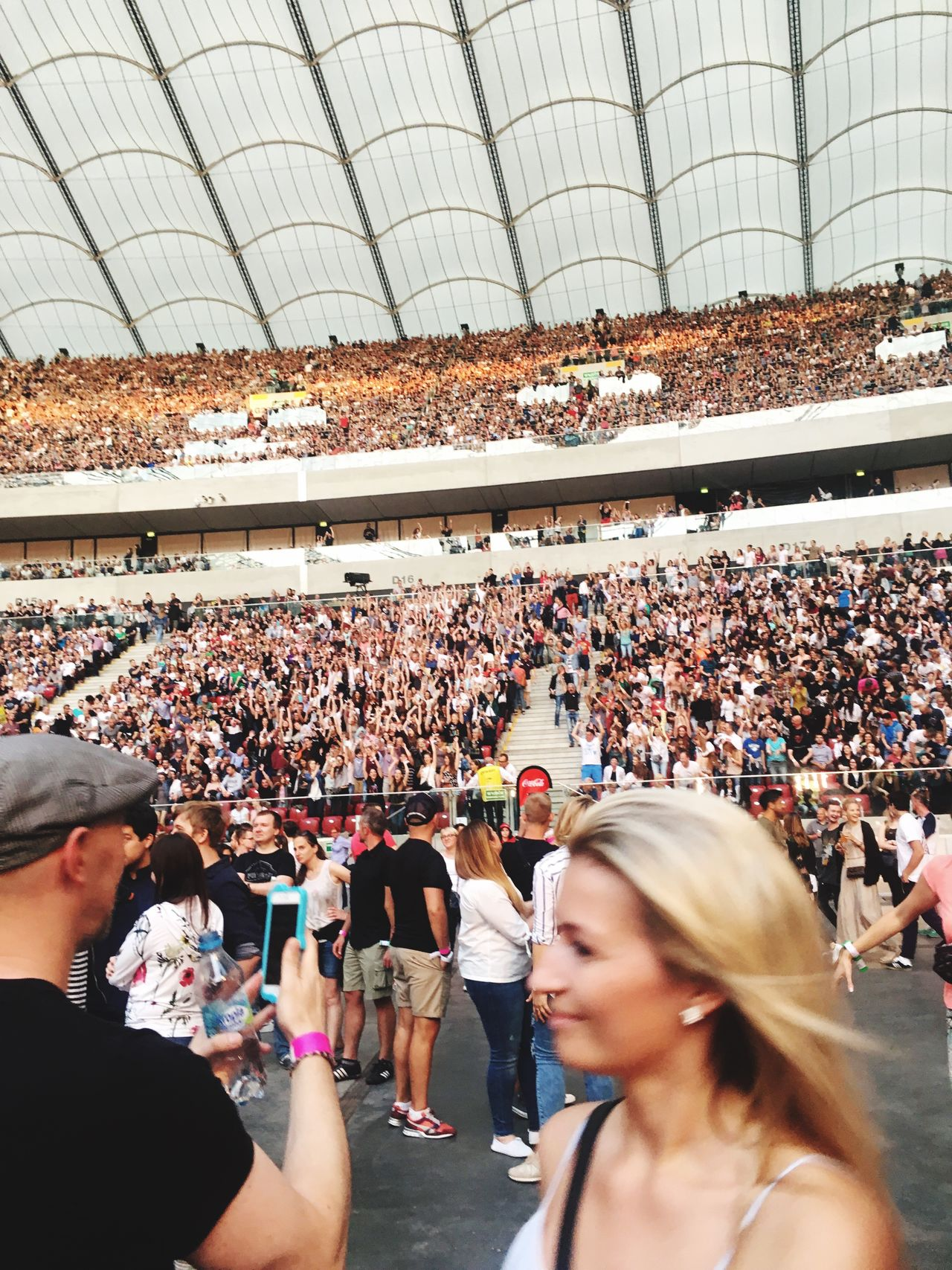 Coldplay Concert  Large Group Of People Crowd Togetherness Celebration Real People Audience Event Enjoyment Celebration Event Leisure Activity Spectator Men Day Women Arts Culture And Entertainment Performance Stadium Fan - Enthusiast Popular Music Concert Outdoors