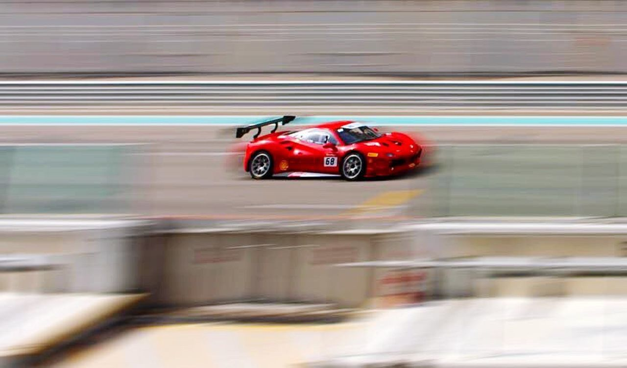 Speed Blurred Motion Motion Red Sports Race Transportation Land Vehicle Mode Of Transport Car Motorsport Sport Day Racecar Sports Track Auto Racing No People Competition Outdoors Long Goodbye