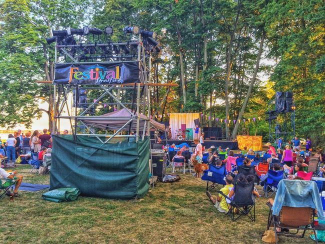 Shakespeare Festival 2016... Festival Shakespeare Festival Long Island Sound Water American Shakespeare Theatre USA New England  August Summertime Summer Theatrical Performance Sunset Outdoors Outside Taming Of The Shrew Shakespeare Theater Theatre Stratford Upon Housatonic Stratford Dusk