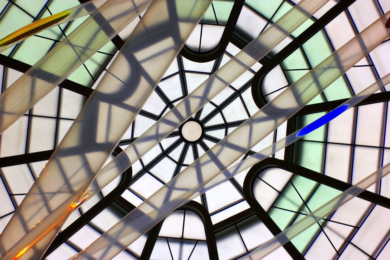 Architectural Design Architectural Feature Architecture Architecture And Art Built Structure Ceiling Circle City Life Close-up Day Design Designed Directly Below Electric Light Full Frame Geometric Shape Glass - Material Indoors  Interiors Low Angle View Modern Pattern Reflection Repetition Skylight