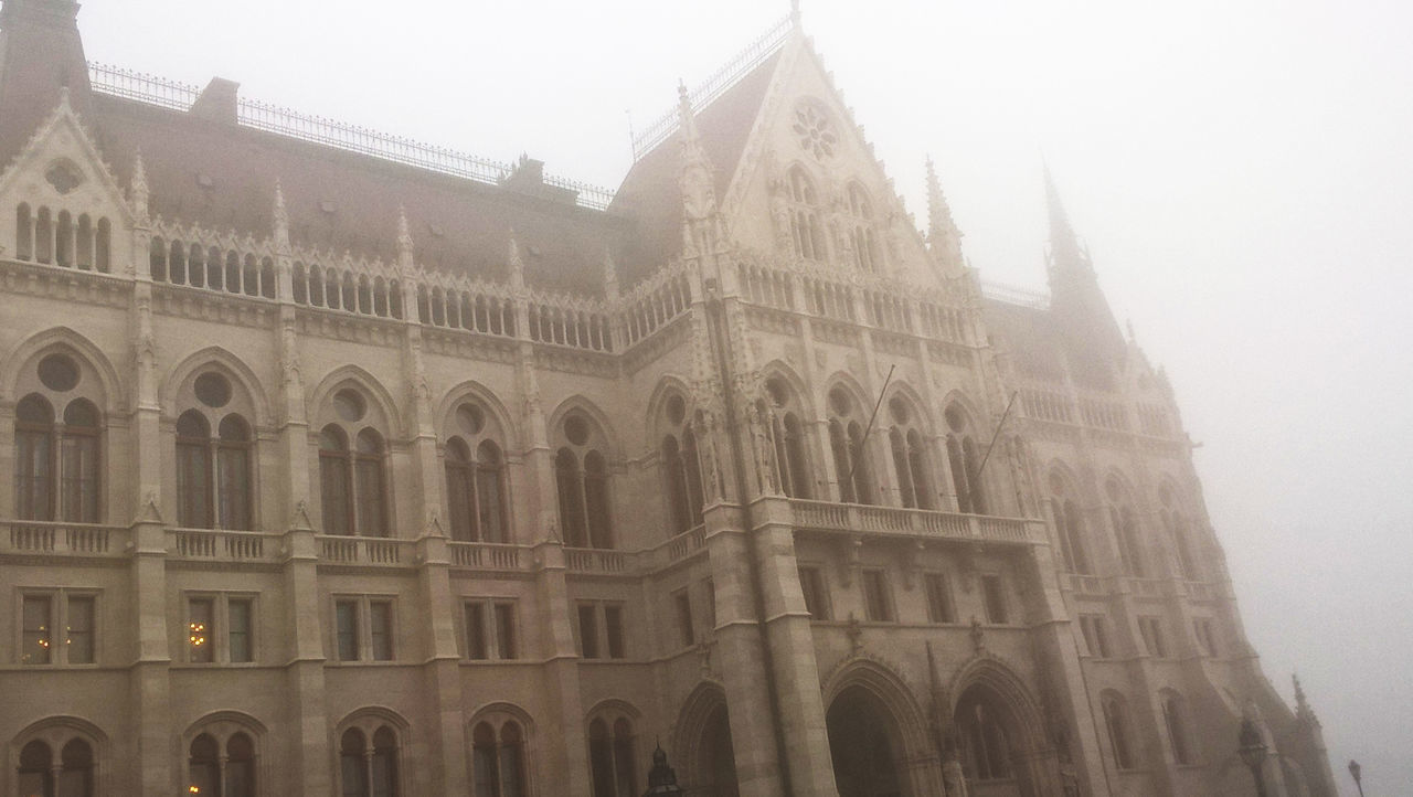Architecture Budapest, Hungary Capital Cities  City Famous Place Fog Foggy Morning No People Parlament Budapest Budapeste Hungary Hungria Gold Tourism Travel Destinations
