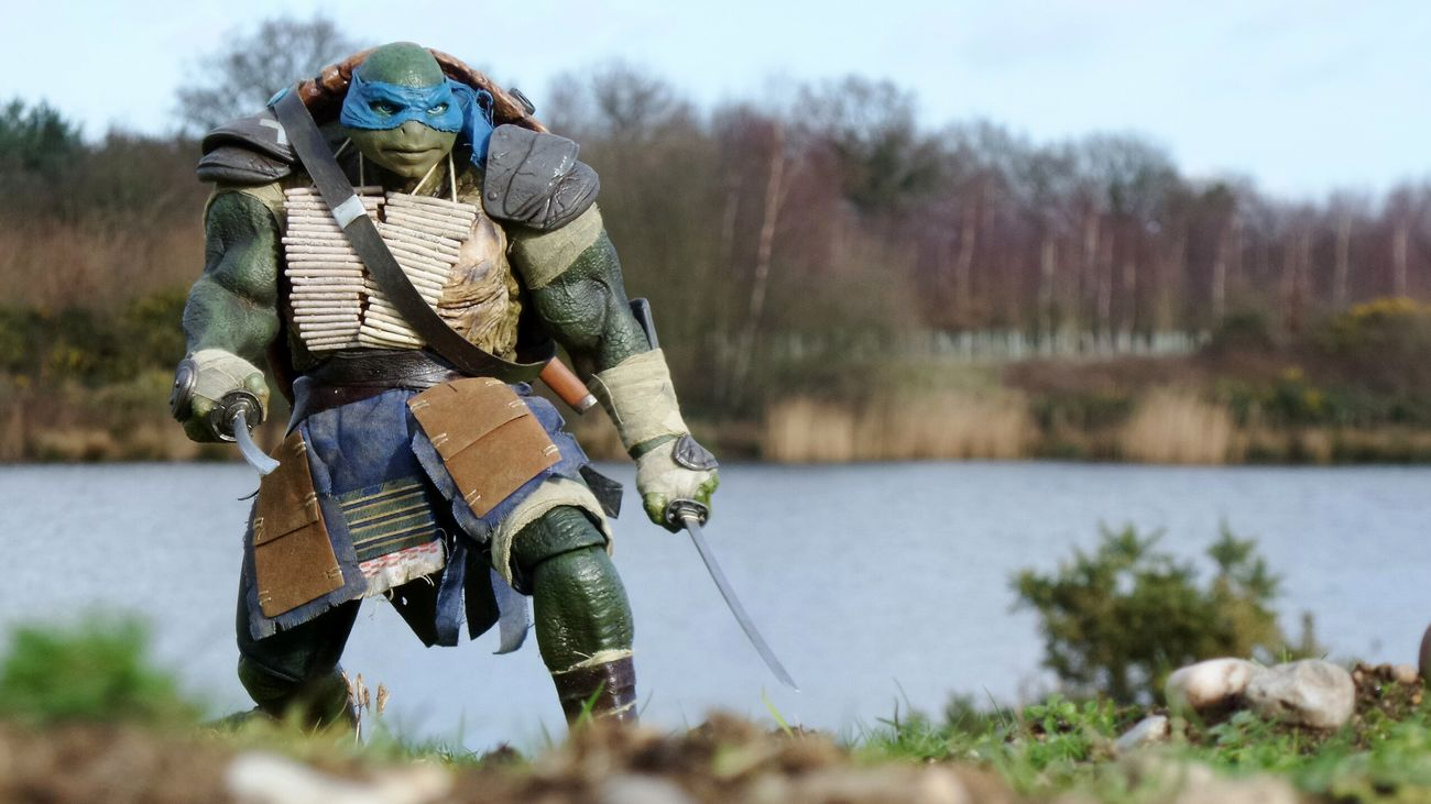 Teenagemutantninjaturtles Tmnt Leonardo Fearlessleader Threezero Toyphotography TurtlePower 3zero Leo Ninjaturtles April Showcase