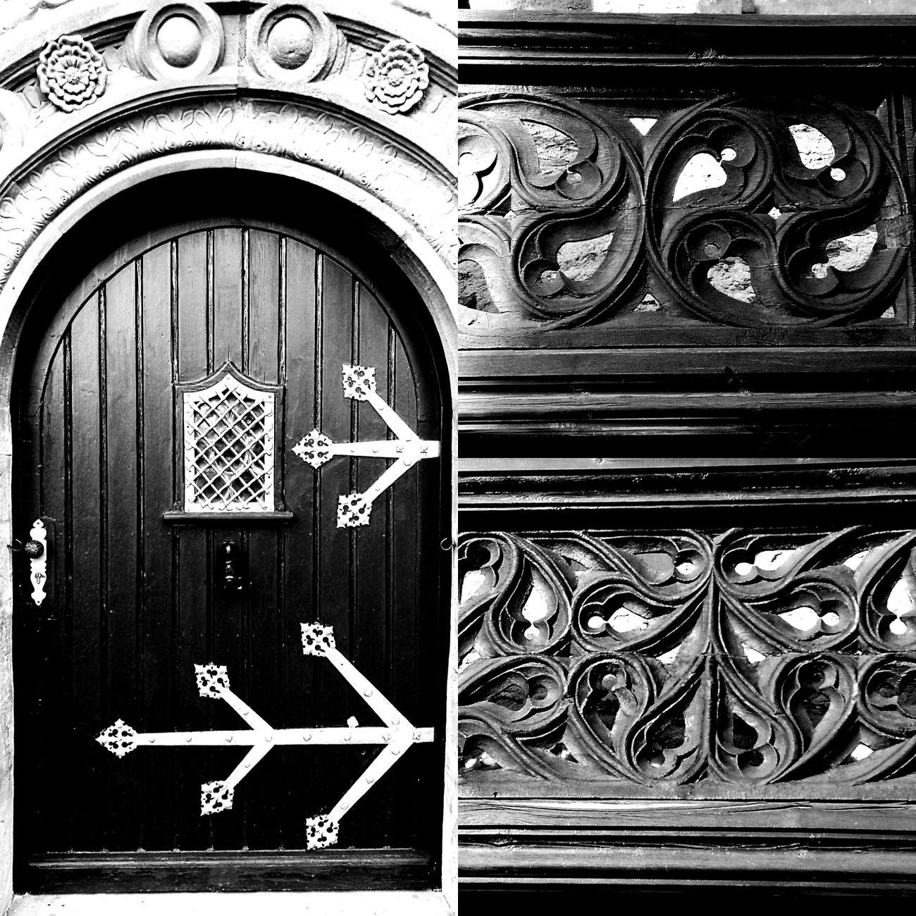 Alte Handwerkskunst Handwerk Holz Holz Kunst Holztür Beschläge Steinmetzarbeit