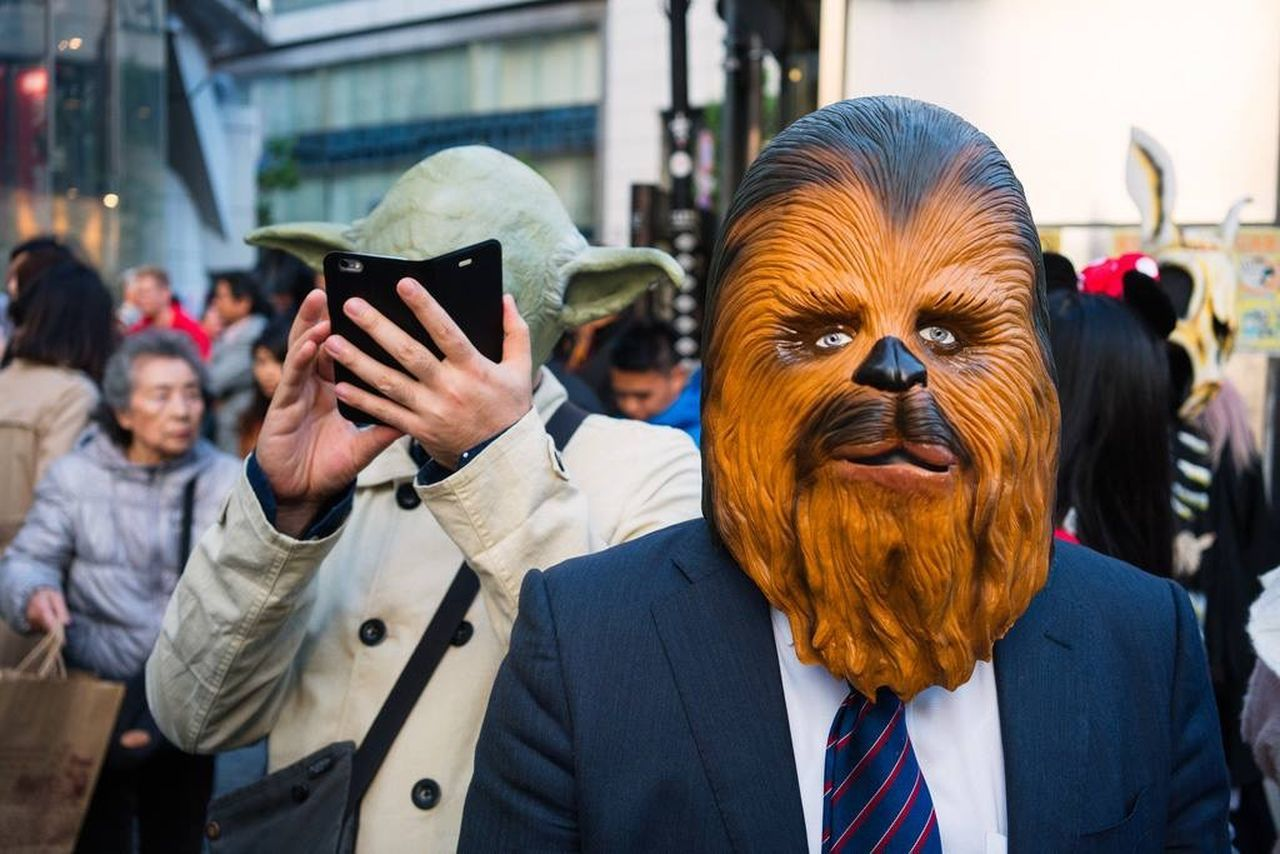 Tokyo Starwars Up Close Street Photography