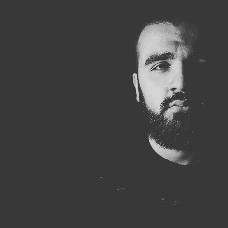 Autoritratto Me :)  Photo Black And White Bear Adult Portrait People Beard Beardman