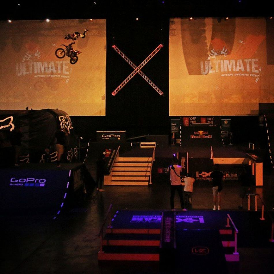 FMX at its best at @ultimatex_ 2015 FMX Bigair Freestyle Motox Flying Extreme Sports Shooteditsleeprepeat