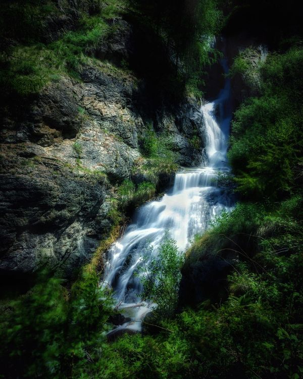 Alps Italy Valdaosta Waterfall Scenics Forest Beauty In Nature Motion Nature Tranquil Scene Long Exposure Water No People Tranquility Outdoors Day Tree Freshness Lillaz Granparadiso EyeEm Selects