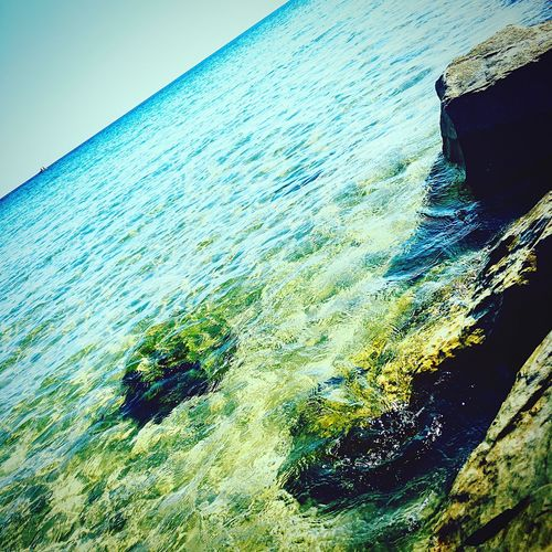 Sea Water Blue Beach Magnifique Beautiful Nature Nabeul