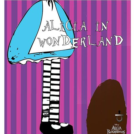 Alicia in wonderland I made this book cover a long time ago but hey! I wanted you guys to see it.? Designerlife CreativeRecreation Graphicdesigner Illustratorcs6 designfollowmeinstafollowinstagood aliciawonderlanddisneycolorslikesart ..........................................