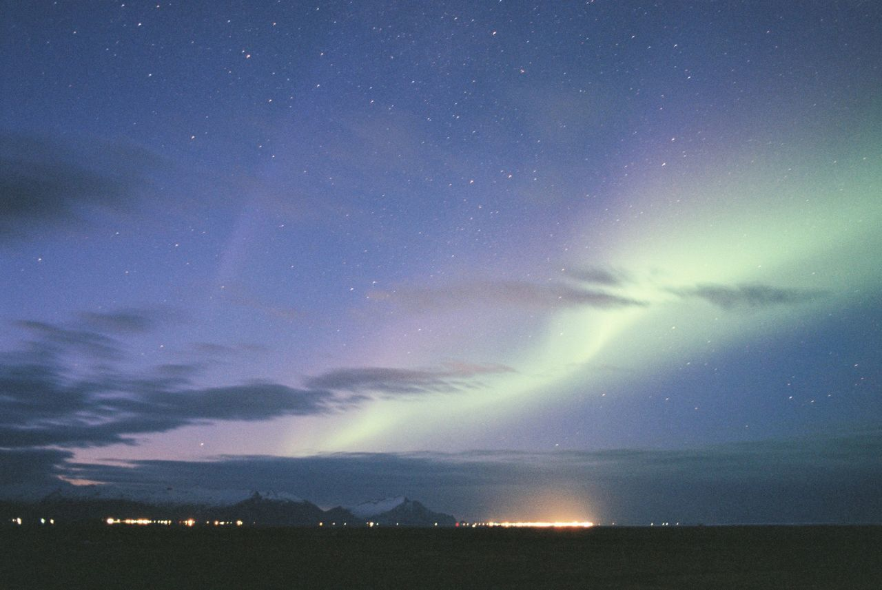 Astronomy Aurora Borealis Beauty In Nature Constellation Field Galaxy Landscape Nature Night No People Outdoors Scenics Sky Space Star - Space Tranquil Scene Tranquility
