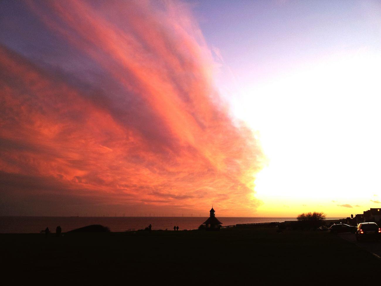 Frinton on sea Sky_scapes Sky Porn Clouds And Sky Sunset Seascape Seaside Sunlight Frinton-on-Sea Frinton Frinton On Sea