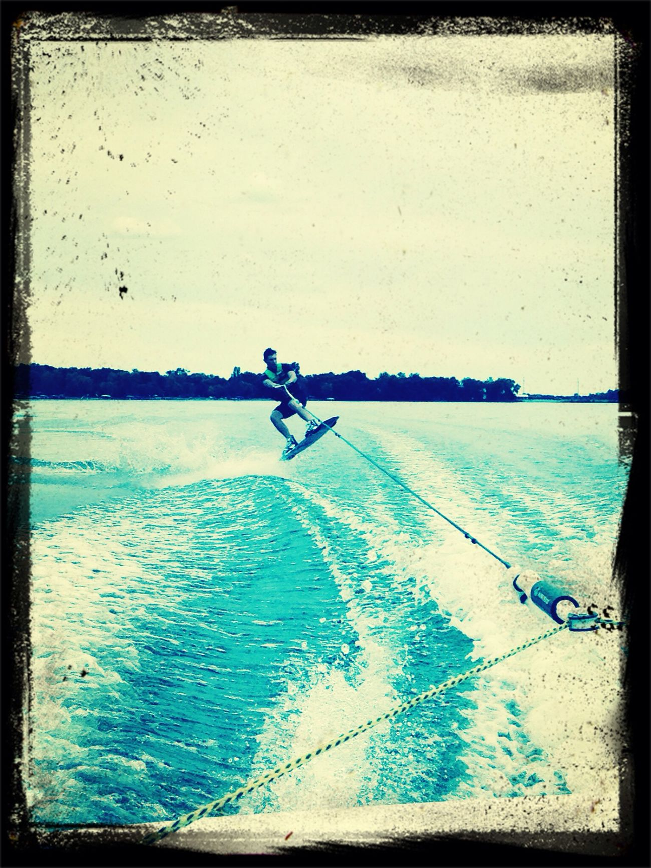 Cousin Wake boarding